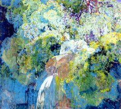 By the Waters Edge   Alexei Kravchenko   Oil Painting