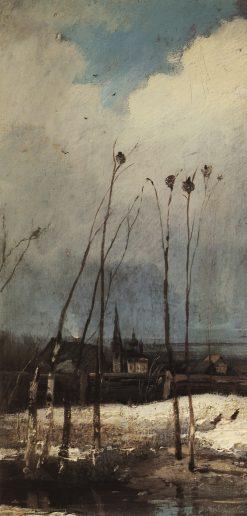 The Rooks Have Come Back | Alexei Kondratyevich Savrasov | Oil Painting