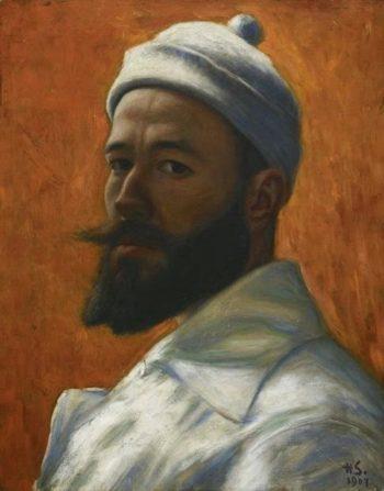 Self Portrait | Hugo Simberg | Oil Painting