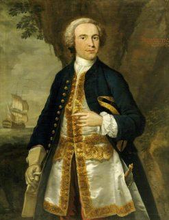 Captain Jacob Elton | John Wollaston | Oil Painting