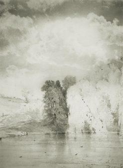 Trees by the Lake | Alexei Kondratyevich Savrasov | Oil Painting