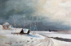 Winter | Alexei Kondratyevich Savrasov | Oil Painting
