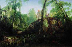 Rock in the Forest | Alexei Kondratyevich Savrasov | Oil Painting