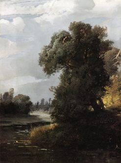 Summer Day | Alexei Kondratyevich Savrasov | Oil Painting