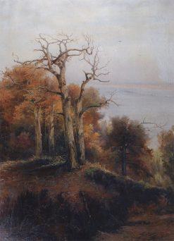 Forest in Autumn | Alexei Kondratyevich Savrasov | Oil Painting