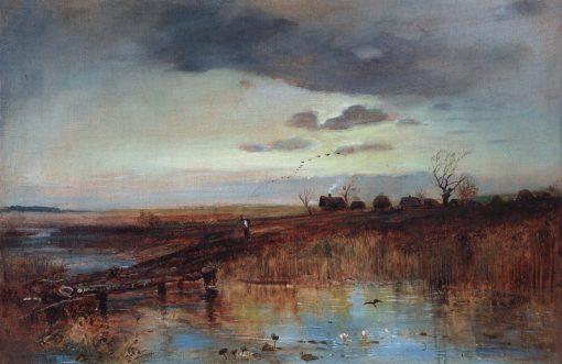 Autumn | Alexei Kondratyevich Savrasov | Oil Painting