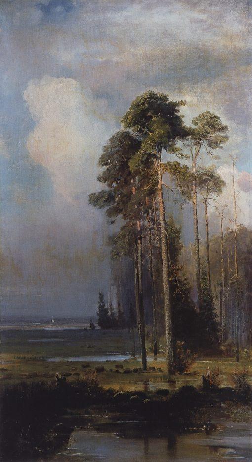 Autumn   Alexei Kondratyevich Savrasov   Oil Painting