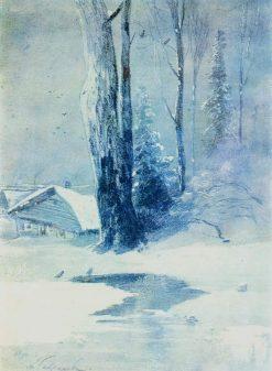 Thaw | Alexei Kondratyevich Savrasov | Oil Painting