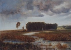 Landscape | Alexei Kondratyevich Savrasov | Oil Painting