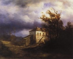 Before the Storm | Alexei Kondratyevich Savrasov | Oil Painting