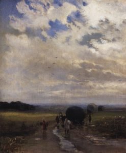 After the Rain | Alexei Kondratyevich Savrasov | Oil Painting