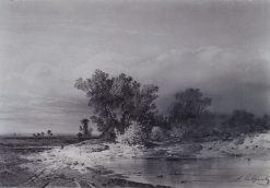 Clearing   Alexei Kondratyevich Savrasov   Oil Painting
