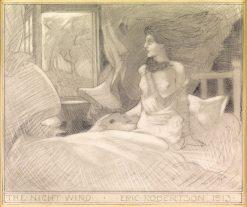 The Night Wind   Eric Harald Macbeth Robertson   Oil Painting