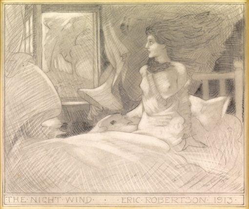 The Night Wind | Eric Harald Macbeth Robertson | Oil Painting