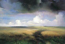 Field of Rye | Alexei Kondratyevich Savrasov | Oil Painting