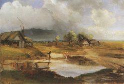 Countryside   Alexei Kondratyevich Savrasov   Oil Painting