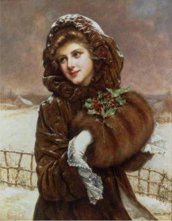 Winter | Francois Martin-Kavel | Oil Painting