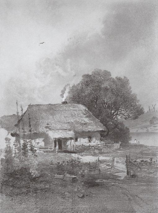 Ukrainian Landscape | Alexei Kondratyevich Savrasov | Oil Painting