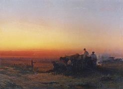 Chumaks   Alexei Kondratyevich Savrasov   Oil Painting