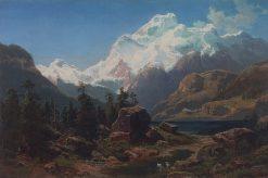 Swiss Landscape | Alexei Kondratyevich Savrasov | Oil Painting