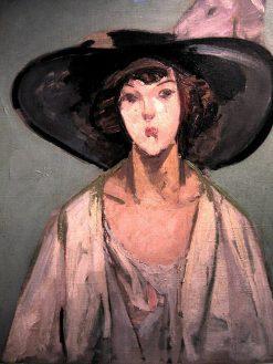 Femme au chapeau | Jacqueline Marval | Oil Painting