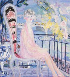 Portrait of Dolly Davis   Jacqueline Marval   Oil Painting