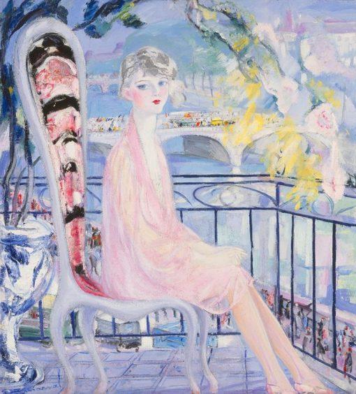 Portrait of Dolly Davis | Jacqueline Marval | Oil Painting