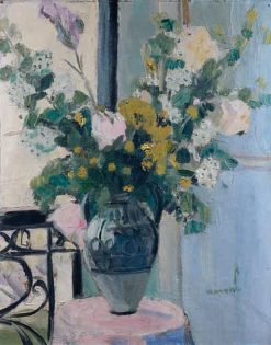 Flowers in a Vase | Jacqueline Marval | Oil Painting