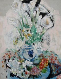 Calla Lilies | Jacqueline Marval | Oil Painting