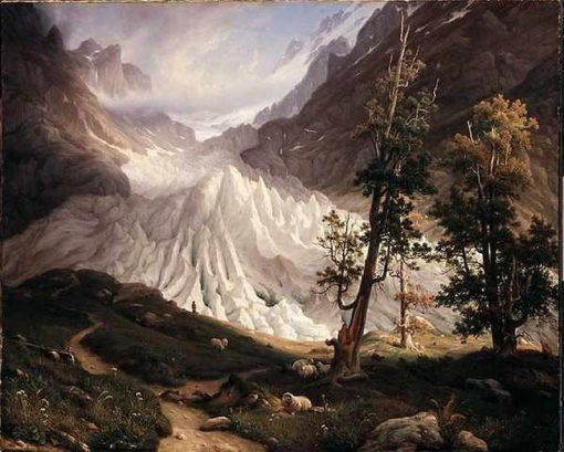 Grindwald glacier | Thomas Fearnley | Oil Painting