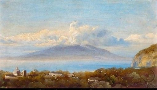 Vesuvius | Thomas Fearnley | Oil Painting