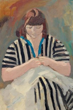 La couture | Jacqueline Marval | Oil Painting