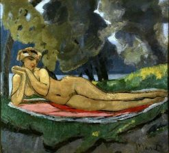 Reclining Nude | Jacqueline Marval | Oil Painting