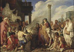 Didos Sacrifice to Juno | Pieter Lastman | Oil Painting