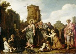 Christ and the Woman from Canaan | Pieter Lastman | Oil Painting