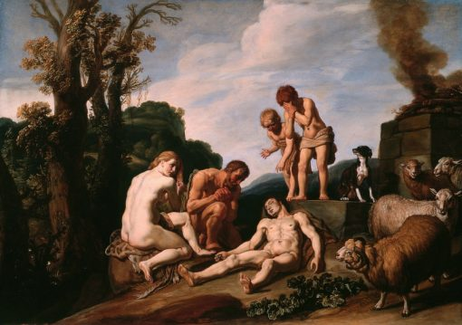 The Lamentation of Abel | Pieter Lastman | Oil Painting