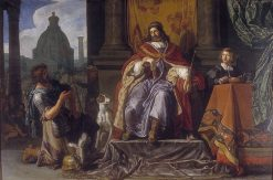 David handing over a letter to Uriah | Pieter Lastman | Oil Painting