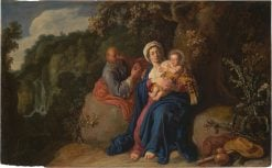 The Rest on the Flight into Egypt | Pieter Lastman | Oil Painting