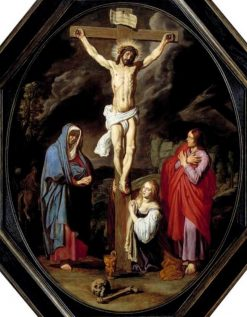 Crucifixion with Mary