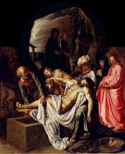 Entombment of Christ | Pieter Lastman | Oil Painting