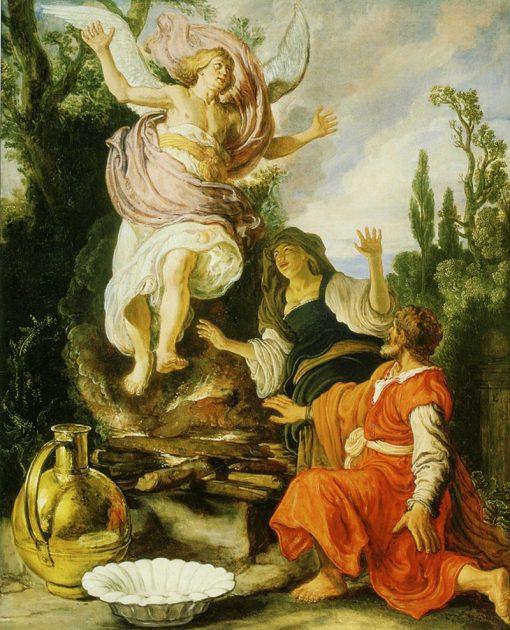 The Sacrifice of Manoah | Pieter Lastman | Oil Painting