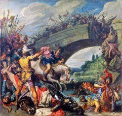 Battle of the Milvian Bridge | Pieter Lastman | Oil Painting