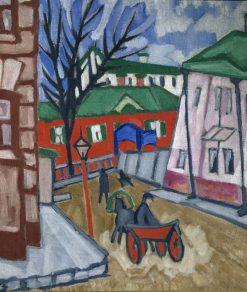 Cityscape | Olga Rozanova | Oil Painting