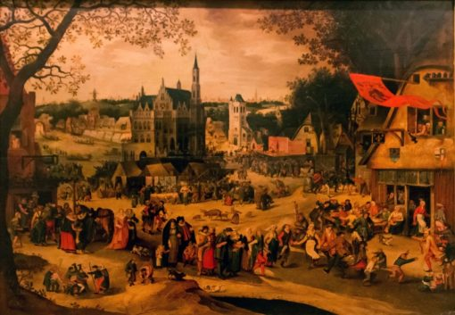 The Fair at Audenaerde | David Vinckboons | Oil Painting