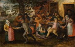 Peasants at the Inn | David Vinckboons | Oil Painting