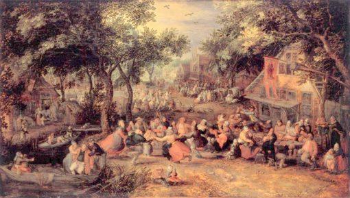 Kermis | David Vinckboons | Oil Painting