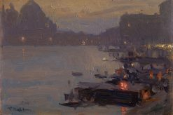 Evening in Venice | Konstantin Pervukhin | Oil Painting