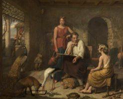 Aesop Composing His Fables | Charles Landseer | Oil Painting