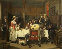 Nell Gwynn at the Tavern | Charles Landseer | Oil Painting
