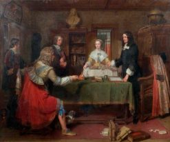 The Temptation of Andrew Marvell | Charles Landseer | Oil Painting
